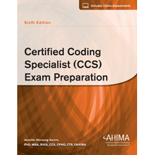 Ahima press certified coding specialist ccs exam preparation sixth edition for Certified new home specialist designation